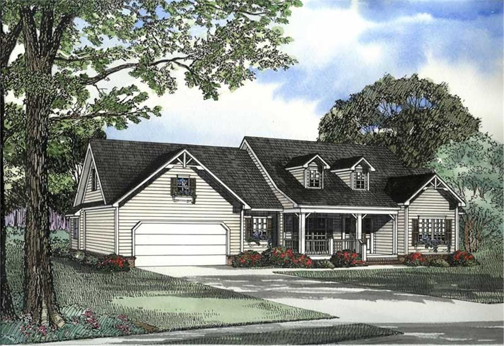 Main image for house plan # 3414