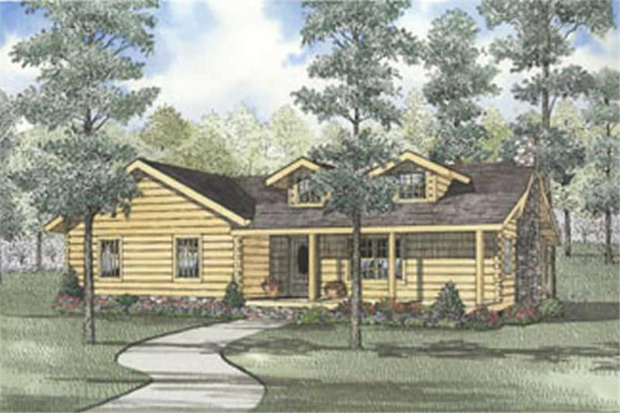 Main image for Ranch houseplans # 5129