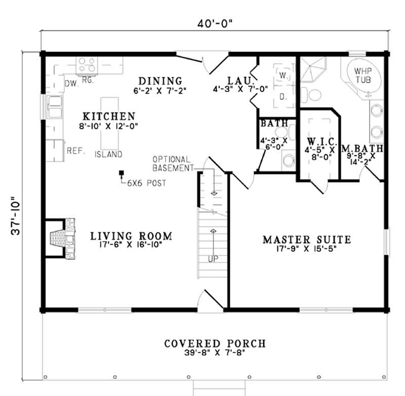 Log house plans house plan 153 1478 for Cost to build 1200 sq ft cabin