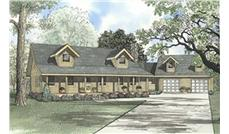 Main image for house plan # 5127