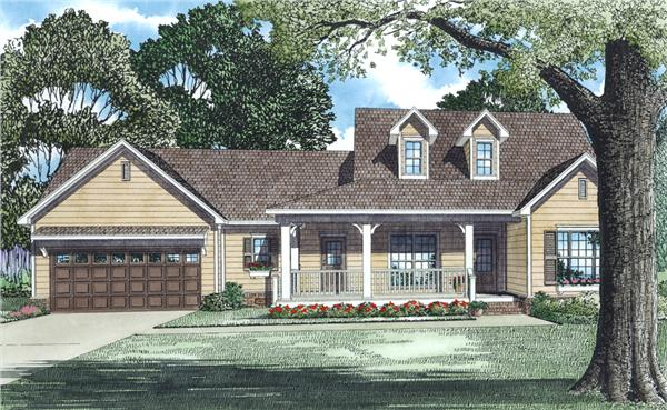 153-1483: Home Plan Rendering
