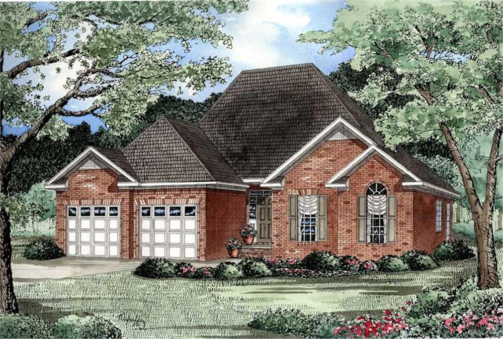 Main image for house plan # 3364