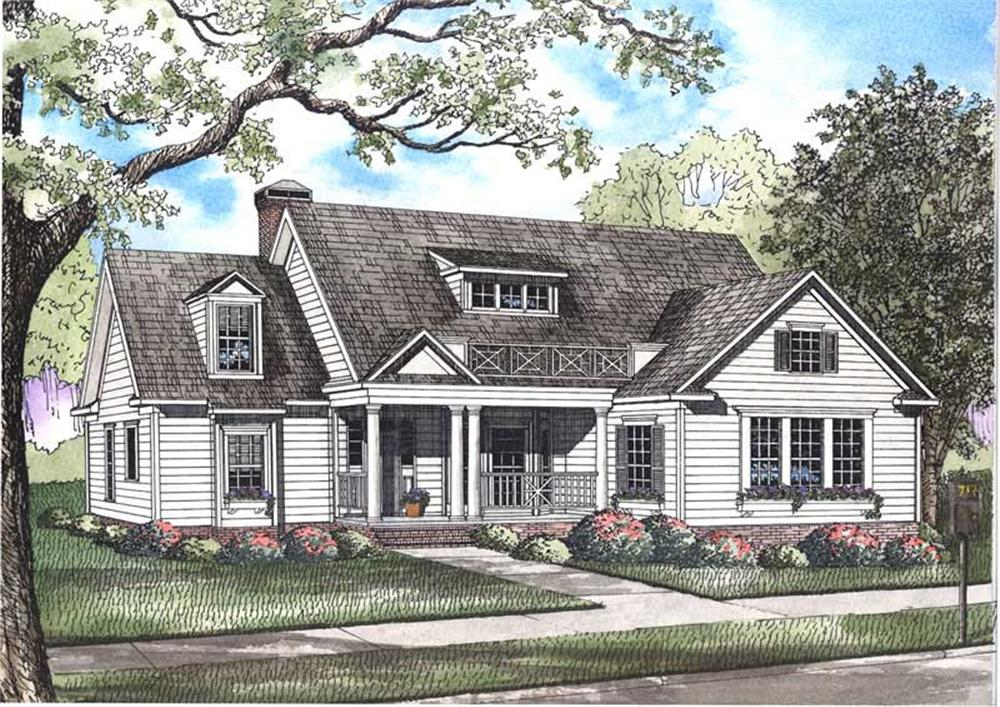 Main image for house plan # 3371