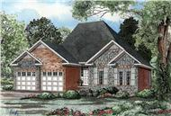 Main image for house plan # 3381