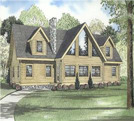House Plan #153-1493