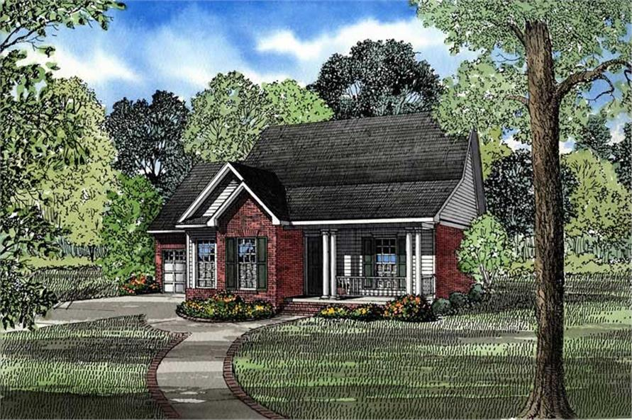 Main image for house plan # 3393
