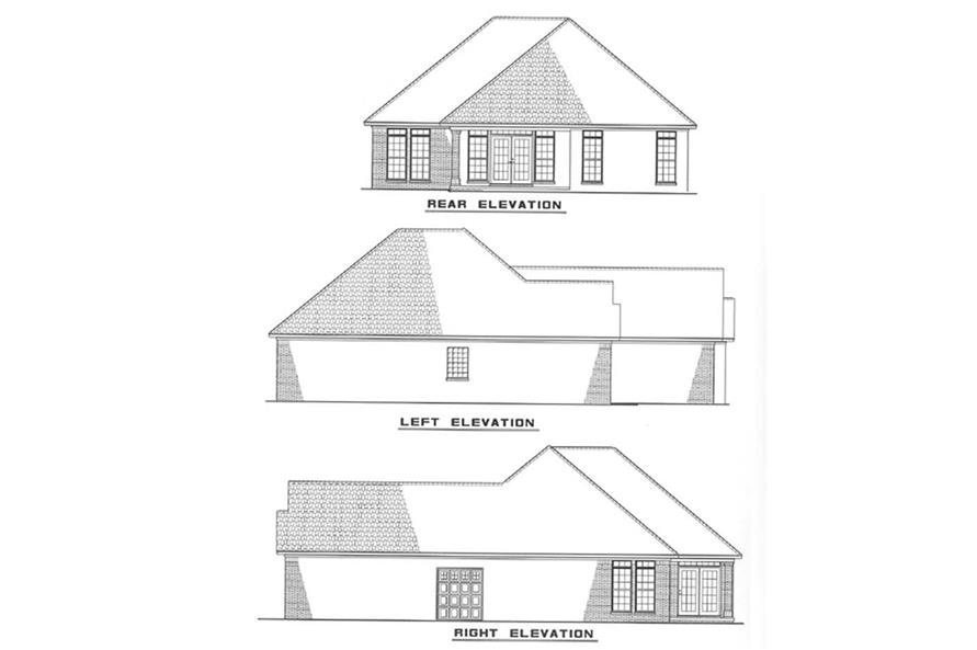 Home Plan Other Image of this 2-Bedroom,1287 Sq Ft Plan -153-1501