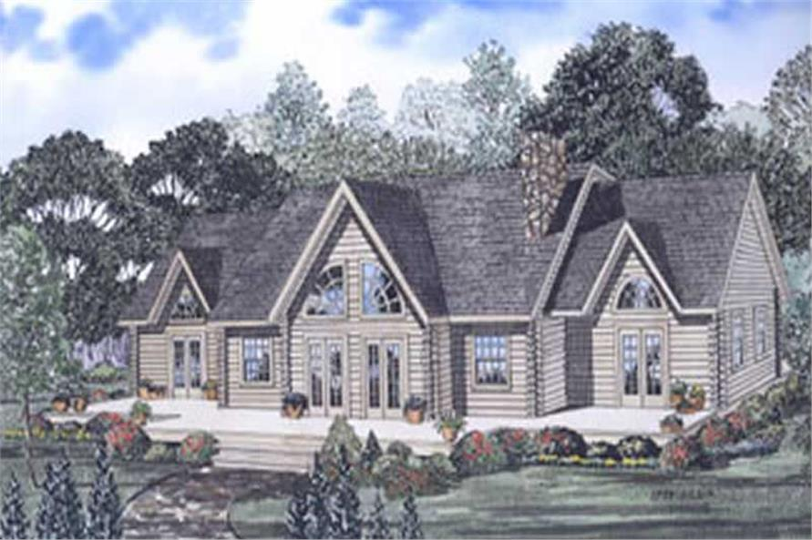 3-Bedroom, 2412 Sq Ft Cape Cod Home Plan - 153-1506 - Main Exterior
