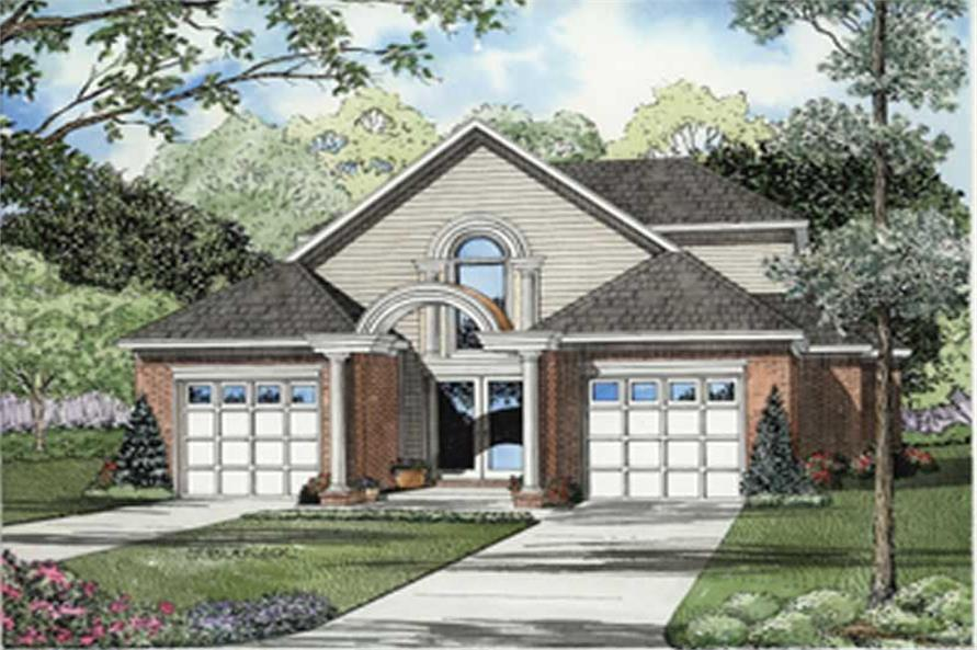 Main image for house plan # 7879