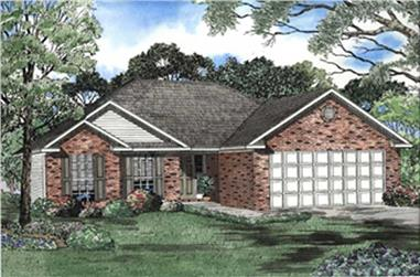 Main image for house plan # 7876