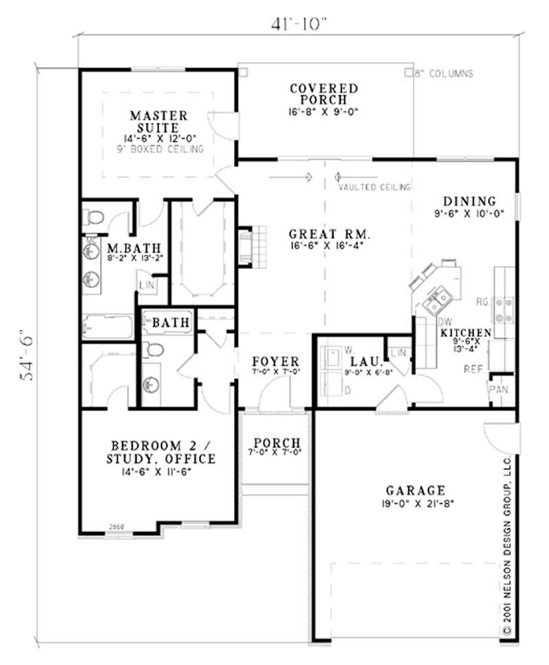Small European French House Plans Home Design Ndg 582