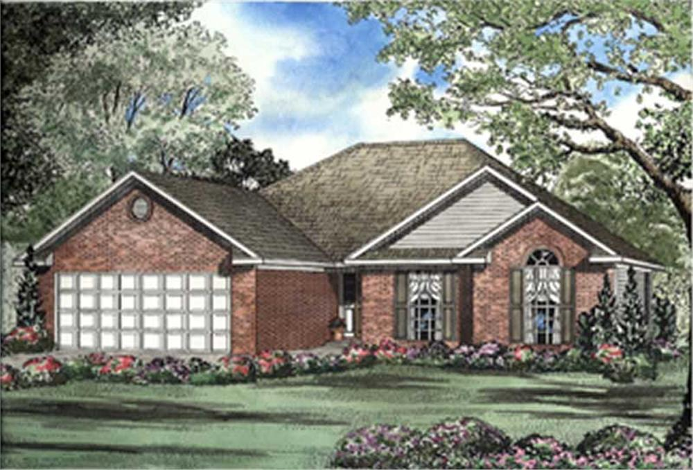 Main image for house plan # 7875