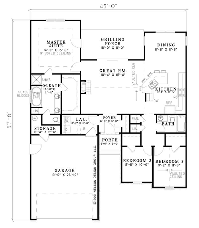 Small French Ranch European House Plans Home Design