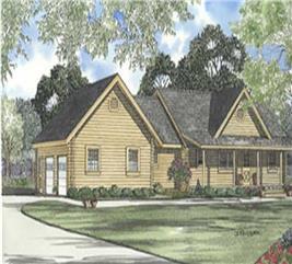 House Plan #153-1518