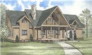 Main image for vacation houseplans # 5109