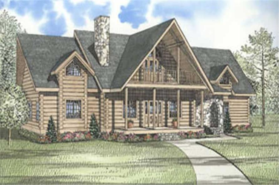 3-Bedroom, 3284 Sq Ft In-Law Suite House Plan - 153-1520 - Front Exterior