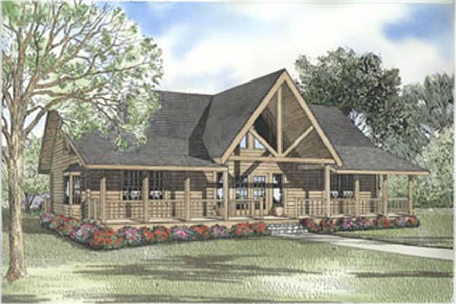 Main image for house plan # 5118