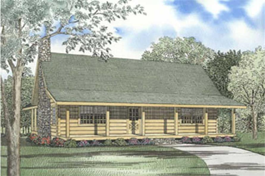 2-Bedroom, 2046 Sq Ft Cape Cod House Plan - 153-1526 - Front Exterior
