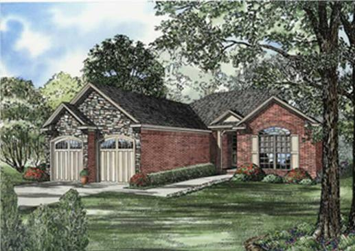 Main image for house plan # 7926