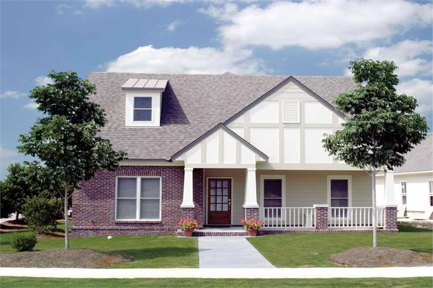 3-Bedroom, 1933 Sq Ft Craftsman House Plan - 153-1535 - Front Exterior