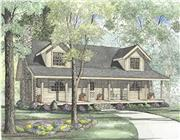 View house Plan#153-1537