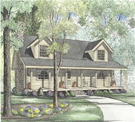 House Plan #153-1537