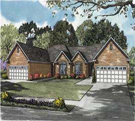 House Plan #153-1538
