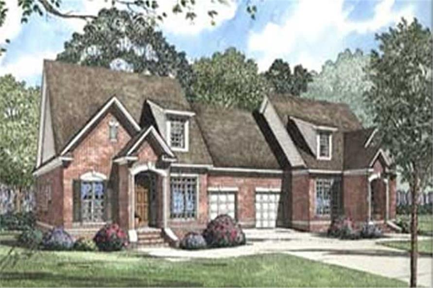 Main image for house plan # 3968