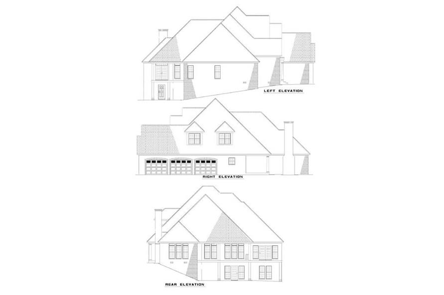 Home Plan Other Image of this 4-Bedroom,3476 Sq Ft Plan -153-1543