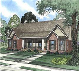House Plan #153-1544