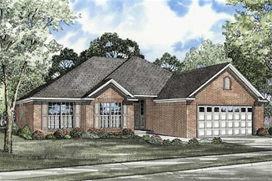 Main image for house plan # 4068