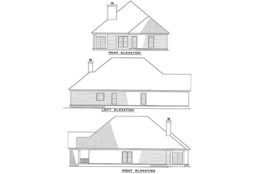 Home Plan Other Image of this 3-Bedroom,1892 Sq Ft Plan -153-1548