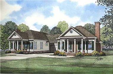 Main image for house plan # 3961