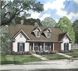 House Plan #153-1550