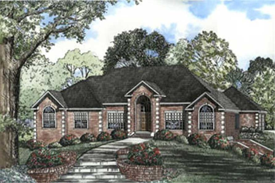 Main image for house plan # 3805