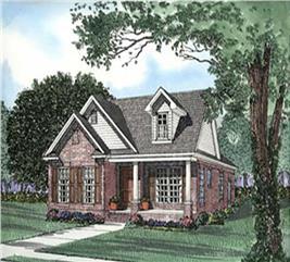 House Plan #153-1555