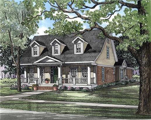 Main image for house plan # 3689
