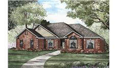 Main image for house plan # 3793