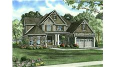 Main image for house plan # 9232