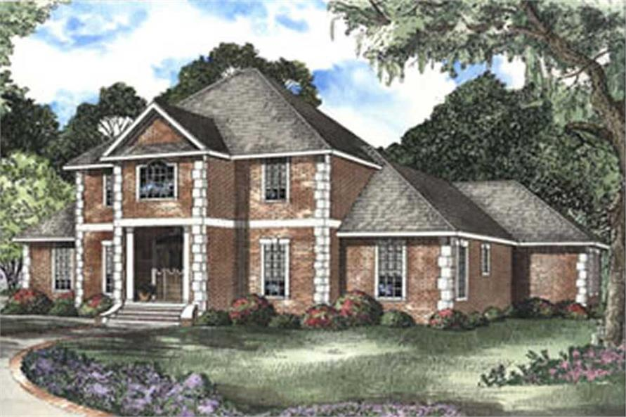 Main image for house plan # 3825