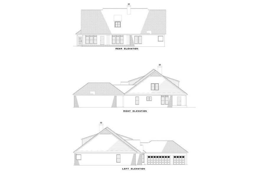 Home Plan Other Image of this 5-Bedroom,3077 Sq Ft Plan -153-1568