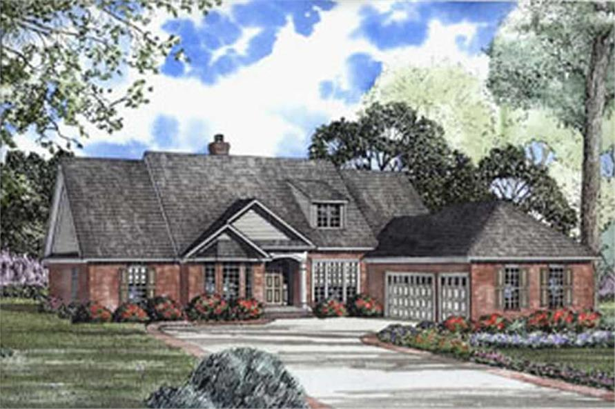 Main image for house plan # 4070