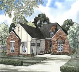 House Plan #153-1571