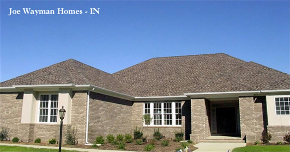 153-1573: Home Exterior Photograph-Front