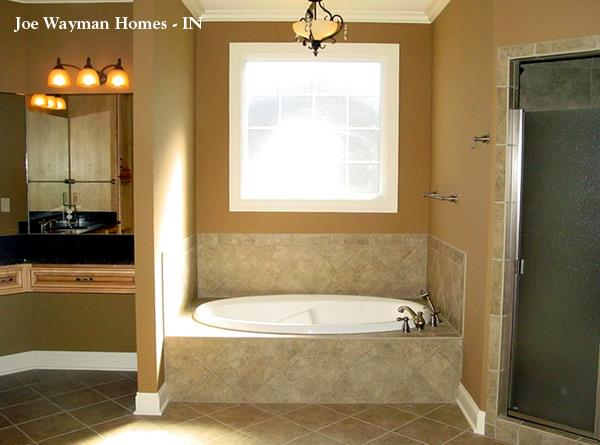 153-1573: Home Interior Photograph-Master Bathroom