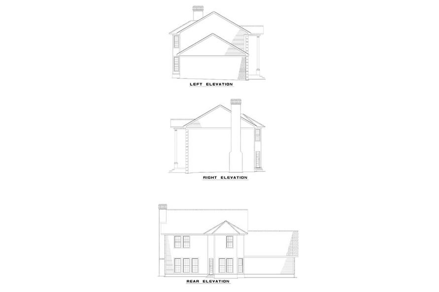 Home Plan Other Image of this 4-Bedroom,2132 Sq Ft Plan -153-1574