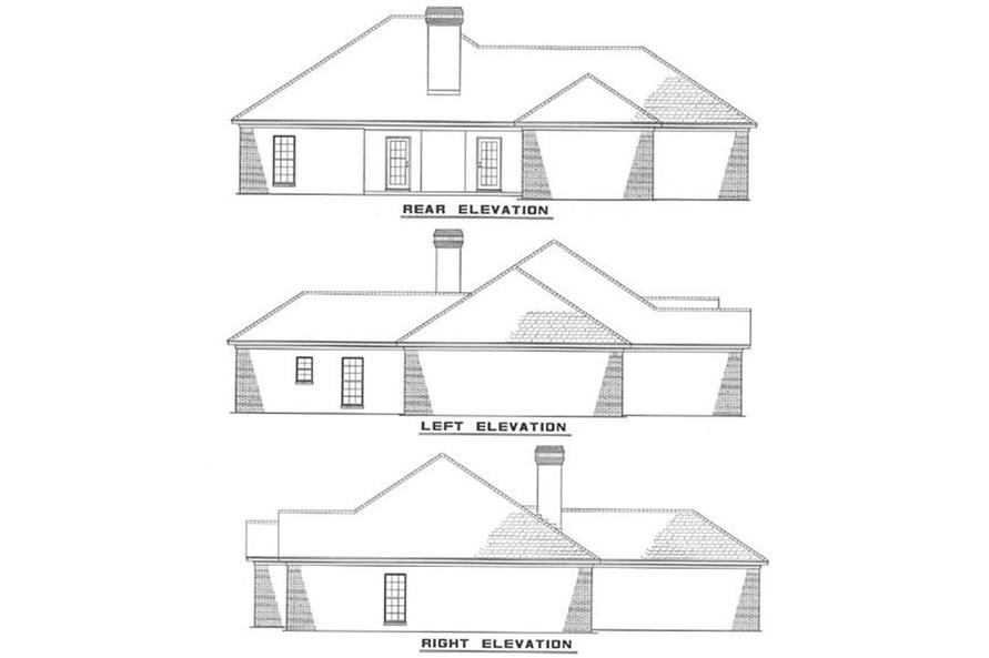 Home Plan Other Image of this 4-Bedroom,1926 Sq Ft Plan -153-1579