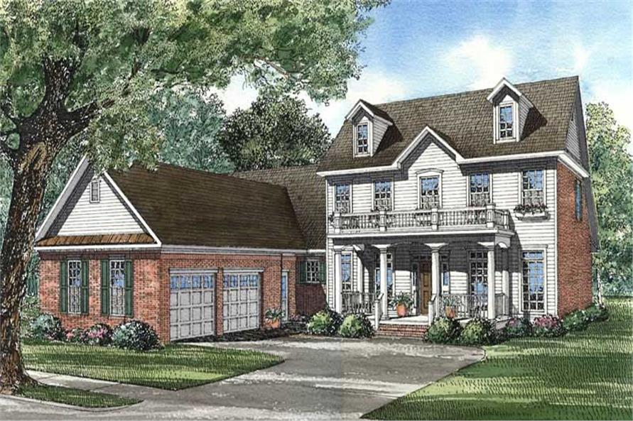 Main image for house plan # 3921