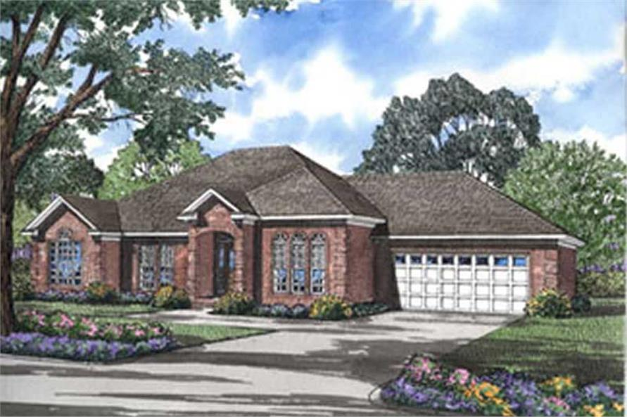 Main image for house plan # 4010