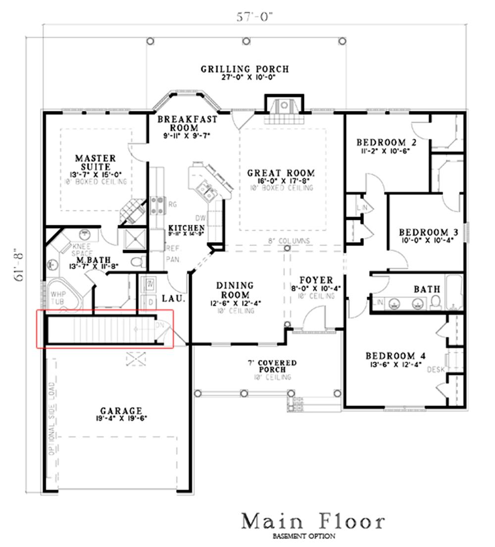 153-1582: Floor Plan Main Level